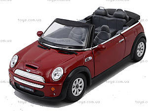 Инерционная машина Mini Cooper S Convertible, KT5089W, доставка