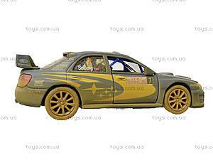 Машина металлическая Subaru Impreza (Muddy), KT5328WY, фото