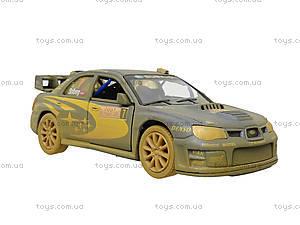 Машина металлическая Subaru Impreza (Muddy), KT5328WY, отзывы