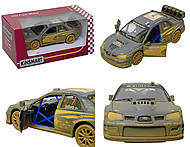 Машина металлическая Subaru Impreza (Muddy), KT5328WY