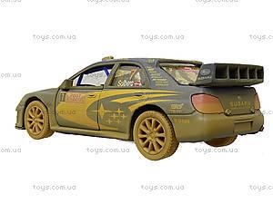 Машина металлическая Subaru Impreza (Muddy), KT5328WY, детские игрушки