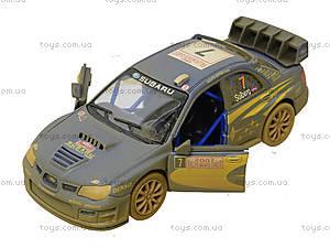 Машина металлическая Subaru Impreza (Muddy), KT5328WY, магазин игрушек