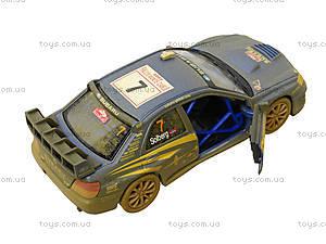 Машина металлическая Subaru Impreza (Muddy), KT5328WY, toys