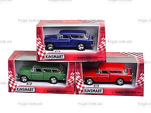 Игрушечная модель автомобиля Chevy Nomad 1955, KT5331FW, игрушки