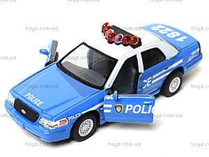 Модель автомобиля Ford Crown Victoria Police, KT5342AW, игрушки