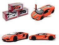 Коллекционная машина Lamborghini Aventador LP -700-4, KT5355FW