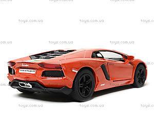 Коллекционная машина Lamborghini Aventador LP -700-4, KT5355FW, игрушки