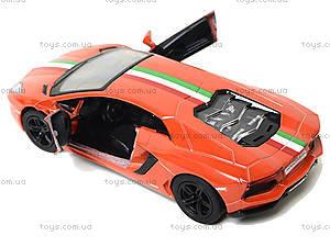 Коллекционная машина Lamborghini Aventador LP -700-4, KT5355FW, детские игрушки