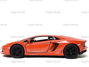 Коллекционная машина Lamborghini Aventador LP -700-4, KT5355FW, магазин игрушек