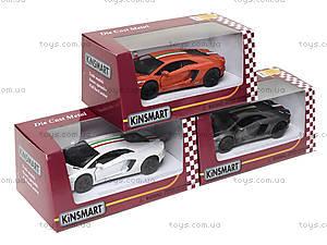 Коллекционная машина Lamborghini Aventador LP -700-4, KT5355FW, toys