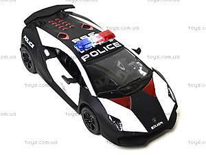 Игрушечная машинка Lamborghini Sesto Elemento Police, KT5359WP, купить