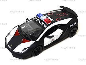 Игрушечная машинка Lamborghini Sesto Elemento Police, KT5359WP, отзывы