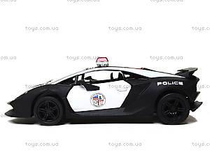 Игрушечная машинка Lamborghini Sesto Elemento Police, KT5359WP, игрушки