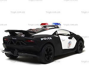 Игрушечная машинка Lamborghini Sesto Elemento Police, KT5359WP, детские игрушки