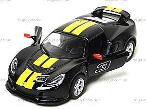 Модель автомобиля Lotus Exige S, KT5361FW, магазин игрушек