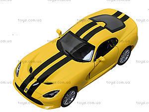 Модель машины Dodge SRT Viper GTS (2013), KT5363FW, цена