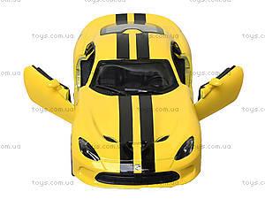 Модель машины Dodge SRT Viper GTS (2013), KT5363FW, toys.com.ua