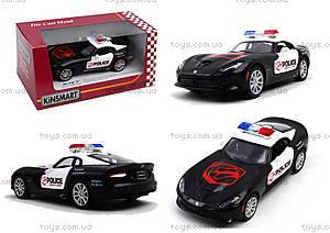 Коллекционная модель Dodge SRT Viper GTS Police, KT5363WP