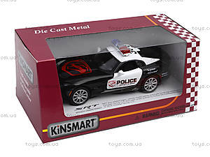 Коллекционная модель Dodge SRT Viper GTS Police, KT5363WP, фото
