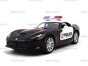 Коллекционная модель Dodge SRT Viper GTS Police, KT5363WP, цена