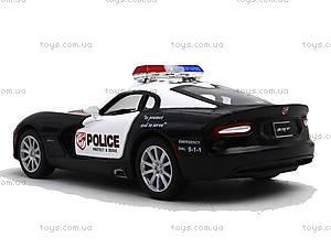Коллекционная модель Dodge SRT Viper GTS Police, KT5363WP, детские игрушки