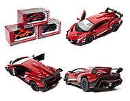 Металлическая модель Lamborghini Veneno, KT5367W, купить