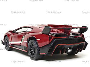 Металлическая модель Lamborghini Veneno, KT5367W, цена