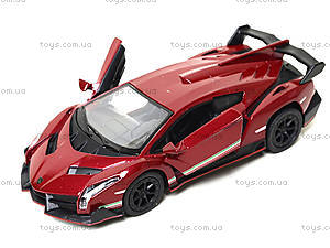 Металлическая модель Lamborghini Veneno, KT5367W, игрушки