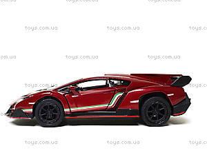 Металлическая модель Lamborghini Veneno, KT5367W, детские игрушки