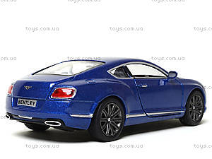 Коллекционная машина Bentley Continental GT Speed, KT5369W, купить
