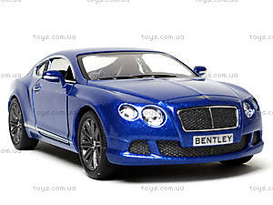 Коллекционная машина Bentley Continental GT Speed, KT5369W, фото