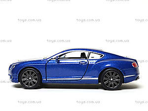 Коллекционная машина Bentley Continental GT Speed, KT5369W, отзывы