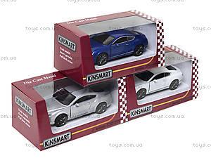 Коллекционная машина Bentley Continental GT Speed, KT5369W, детские игрушки