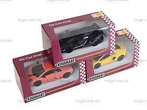 Коллекционная модель Lamborghini Matte, KT5370W, іграшки