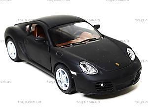 Металлическая машинка Porsche Cayman S Matte, KT5371W, отзывы