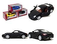 Металлическая машинка Porsche Cayman S Matte, KT5371W