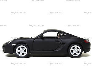 Металлическая машинка Porsche Cayman S Matte, KT5371W, игрушки