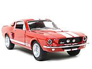 Модель автомобиля Shelby GT-500, KT5372W, отзывы