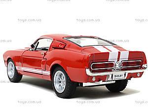 Модель автомобиля Shelby GT-500, KT5372W, детские игрушки