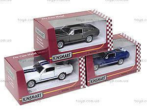 Модель автомобиля Shelby GT-500, KT5372W, магазин игрушек