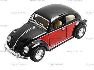 Коллекционная модель VW Classical Beetle, KT5373W, игрушки