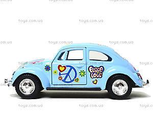 Коллекционная модель Volkswagen Classical Beetle 1967, KT5375FW, детские игрушки