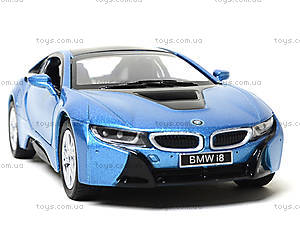 Коллекционная машина BMW I8, KT5379W, игрушки