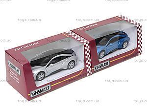 Коллекционная машина BMW I8, KT5379W, toys.com.ua