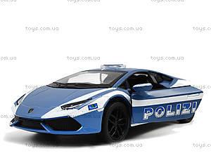 Металлическая модель Lamborghini Huracan LP610, KT5382WP, игрушки