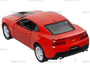 Модель легковая Chevrolet Camaro Pull Back, KT5383FW, фото