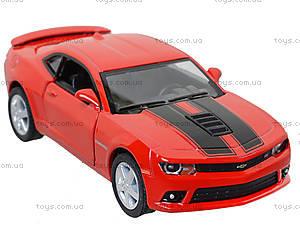 Модель легковая Chevrolet Camaro Pull Back, KT5383FW, отзывы