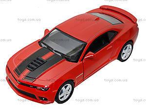Модель легковая Chevrolet Camaro Pull Back, KT5383FW, игрушки