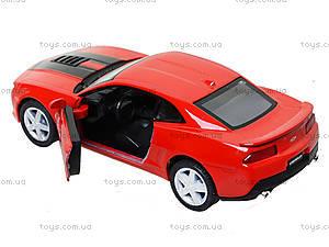 Модель легковая Chevrolet Camaro Pull Back, KT5383FW, магазин игрушек