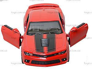 Модель легковая Chevrolet Camaro Pull Back, KT5383FW, toys.com.ua